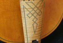 Magnifique dessus de viole avec touche en érable / Treble viola da gamba