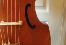Très jolie basse de viole 6 cordes / Nice 6 strings bass viola da gamba