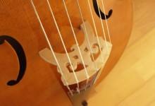 Basse de viole 7 cordes d'après R. Chéron 1700 / 7 strings bass viola da gamba after R. Chéron
