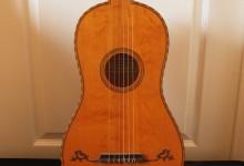 Guitare 6 cordes romantique Baroque / Guitar 6 strings / SOLD