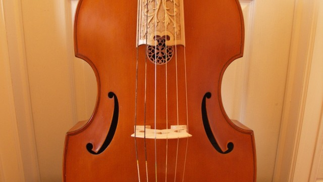 Basse de viole 6 cordes Max Hoyer (Germany 1970) – Joachim Tielke 1689 – 6 strings bass viol made by Max Hoyer / SOLD
