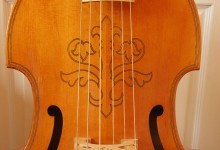 English bass viol