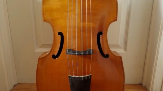 Basse de viole 6 cordes – 6 strings bass viol ( Henry Jaye ) / SOLD