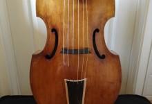 Jolie basse de viole de gambe 6 cordes – 6 strings bass viola da gamba