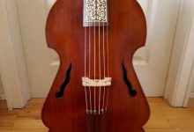 Basse de viole 6 cordes / Bernhard Doering / 6 strings bass viola da gamba
