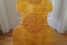 Magnifique Basse de Viola 7 cordes (1978) Beautiful 7 strings Bass viol