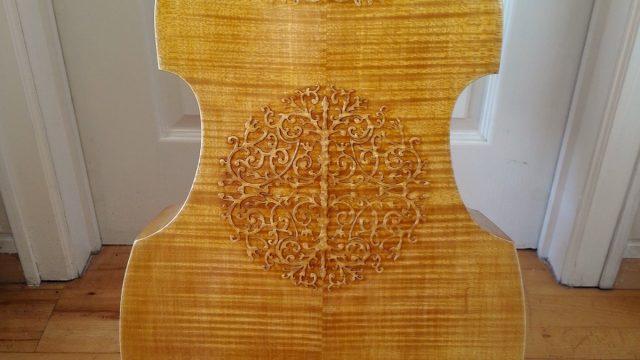 Magnifique Basse de Viola 7 cordes (1978) Beautiful 7 strings Bass viol